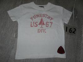 162 Shirt weiß rosa von RALPH LAUREN Gr. 18 Monate