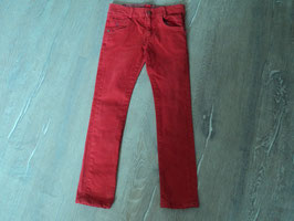 3254 Jeans in rot , Stretchanteile von KANZ Gr. 116