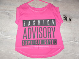 346 Shirt pink FASHION Gr. 134