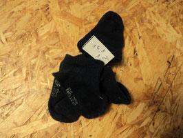 161 2 Paar Sneaker socken in dunkelblau Gr. 17/18