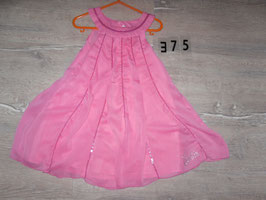 375 Tolles Kleid pink mit Pailetten von BARBIE Gr. 98
