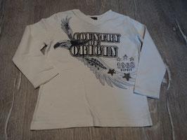 2877 LA Shirt weiß mit Adler von ESPRIT Gr. 92/98