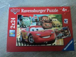 2658 2x24 teiliges Puzzle Cars von RAVENSBURGER komplett