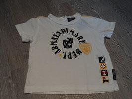 1923  Shirt weiß gelb schwarz von ARMATA DI MARE hoher Neupreis Gr. 74