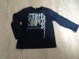 910 LA Shirt dunkelblau Time Stripes von BENETTON Gr. 90