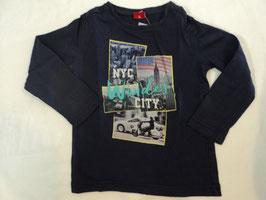 437 LA Shirt in dunkelblau NYC Wonder City von S'OLIVER Gr. 92/98