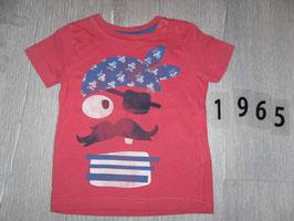 1965 Shirt koralle Pirat von DOPOPOPOMINI Gr. 80