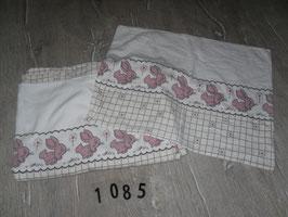 1085 Biber Bettwäsche Hase 100x135 und 40x60