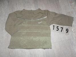1579 LA Shirt khaki Vogel und Blätter von ESPRIT Gr. 86