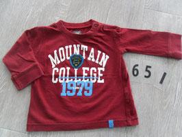 651 LA Shirt weinrot Mountain Gr. 74