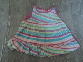 2275 Kleidchen Jersey gestreift von STACCATO       Gr. 68