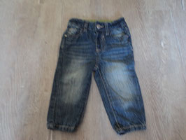 2268 Jeans blau Stone washed von DOPODOPO Gr. 74