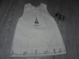 451 BEATRIX POTTER Kleid mit Hase  Gr. 74