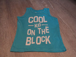 2738 Achselshirt türkis Cool Kid on the Block von REBEL Gr. 98