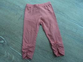 SK-20 Leggings rosa -unten am Bein vorne Schleifchen von TOPOMINI Gr. 86