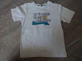 2320 Shirt weiß It's good to be the King von S'OLIVER Gr. 86