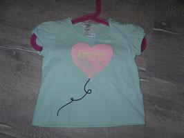 422 Shirt Amour Ballon von ZARA Gr. 78