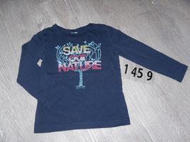 1459 LA Shirt dunkel blau out Nature von S'Oliver Gr. 92/98