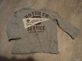 2718 Cooles LA Shirt grau Motor Co. Von BENETTON  Gr. 74