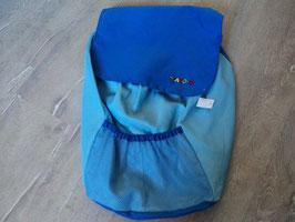 2476 Spielzeug Aufbewahrungssack blau von JAKO O