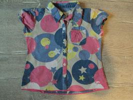 3112 Bluse bunte pastell Farben Sterne Kreise von EAT ANTS  Gr. 92