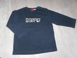 639 LA Shirt dunkelblau mit Rettungsfahrzeuge von ESPRIT Gr. 74