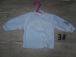 38 Jacke mit Hase am Ärmel aus Nickie Gr. 62