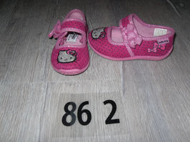 862 Ballerinas pink mit Hello Kitty Gr. 21