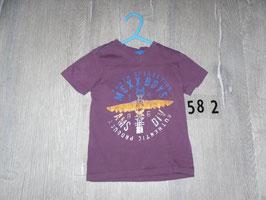 582 Shirt lila von MEXX gr. 86
