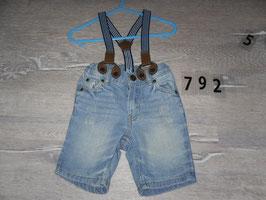 792 Coole jeans Latzhose von H&M Gr. 74