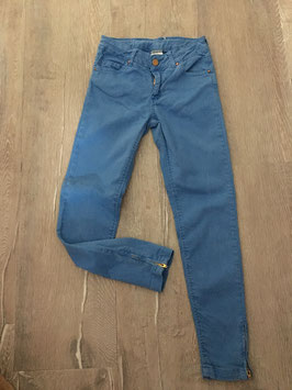 2017 Tolle Skinny Jeans mit Reißverschlüsse von ZARA Gr. 140