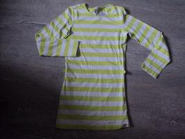3190 LA Kleid grün weiß , Ärmel kann man hochknöpfen, Gürtelschlaufen vorhanden von GARCIA Gr. 140/146