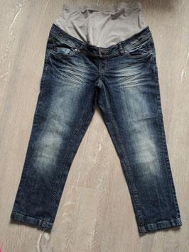 1402 Umstands Jeans Kurzgröße für die Kleinen werdenden Mami's oder für die großen Mami's von Yessica Gr.  38