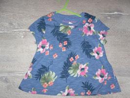 373 Shirt Blumen von ABERCROMBIC Gr. 98