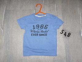 548 Shirt blau von MEXX Gr. 80