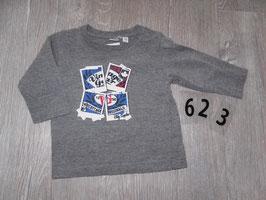 623 LA Shirt grau Vintage von PRENATAL Gr. 62