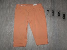 1368 Leggins orange Gr. 74