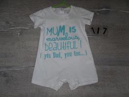 117 Sommerspieler Mum is ....Dad too... Gr. 80