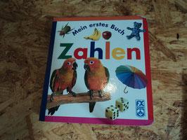 831 Buch Mein erstes Buch Zahlen von SCHMID-unten an der Falz etwas ab