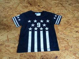 AL-37 Shirt dunkelblau mit Sterne 9 von L&O Gr. 80