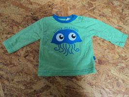 SK-178 LA Shirt im tollen grün mit Qualle  Little Jellyfish von MINYMO Gr. 56