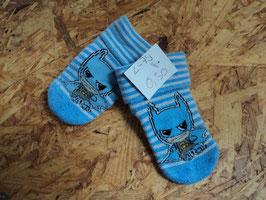 L-79 PJMask Socken in blau/weiß gestreift Gr. 14