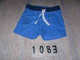 1083 SHorts blau hinten Tasche von H&M  Gr. 68