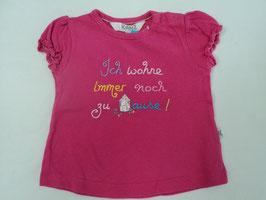 224 Shirt pink *Ich wohne immer noch zu Hause * von KANZ Gr. 62