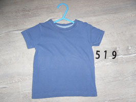 519 Shirt blau Uni Gr. 74