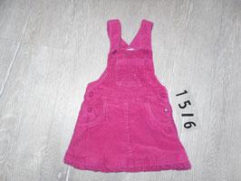 1516 Cordlatzkleid pink Gr. 74/80