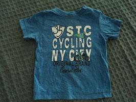 M-94 Shirt blau Cycling NY City von STACCATO Gr. 74