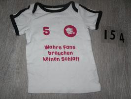 """154 Shirt Fußball """"Wahre Fans"""" Gr. 86"""