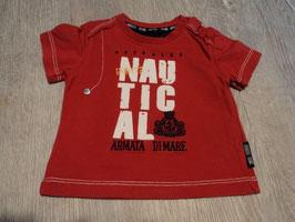 2773 Shirt rot Hunter Nautical von ARMATA DI MARE hoher Neupreis Gr. 62/68