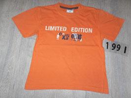1991 Shirt orange Limited Edition von POCOPIANO Gr. 116